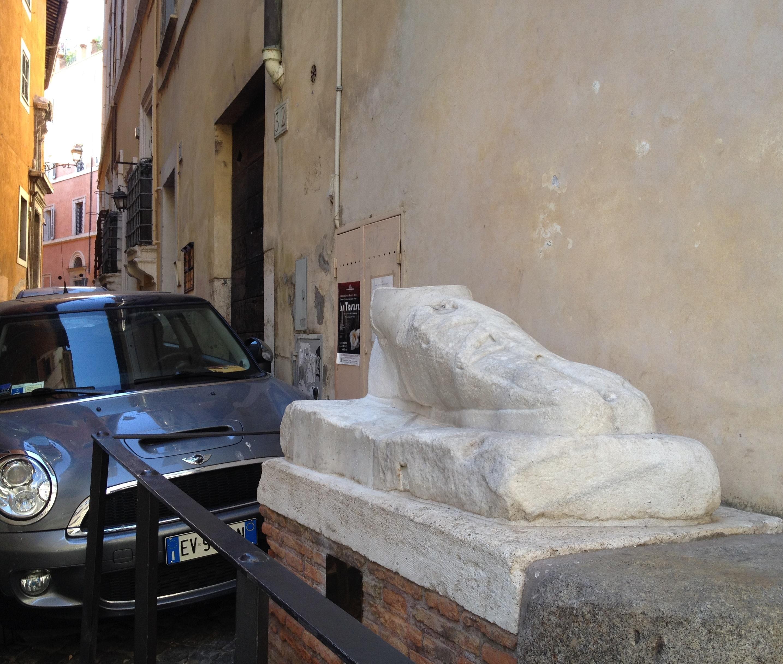 marmorfot i rom