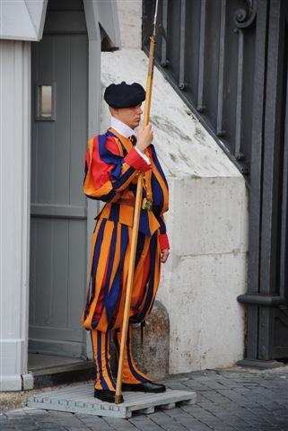 schweizergardist i vatikanen