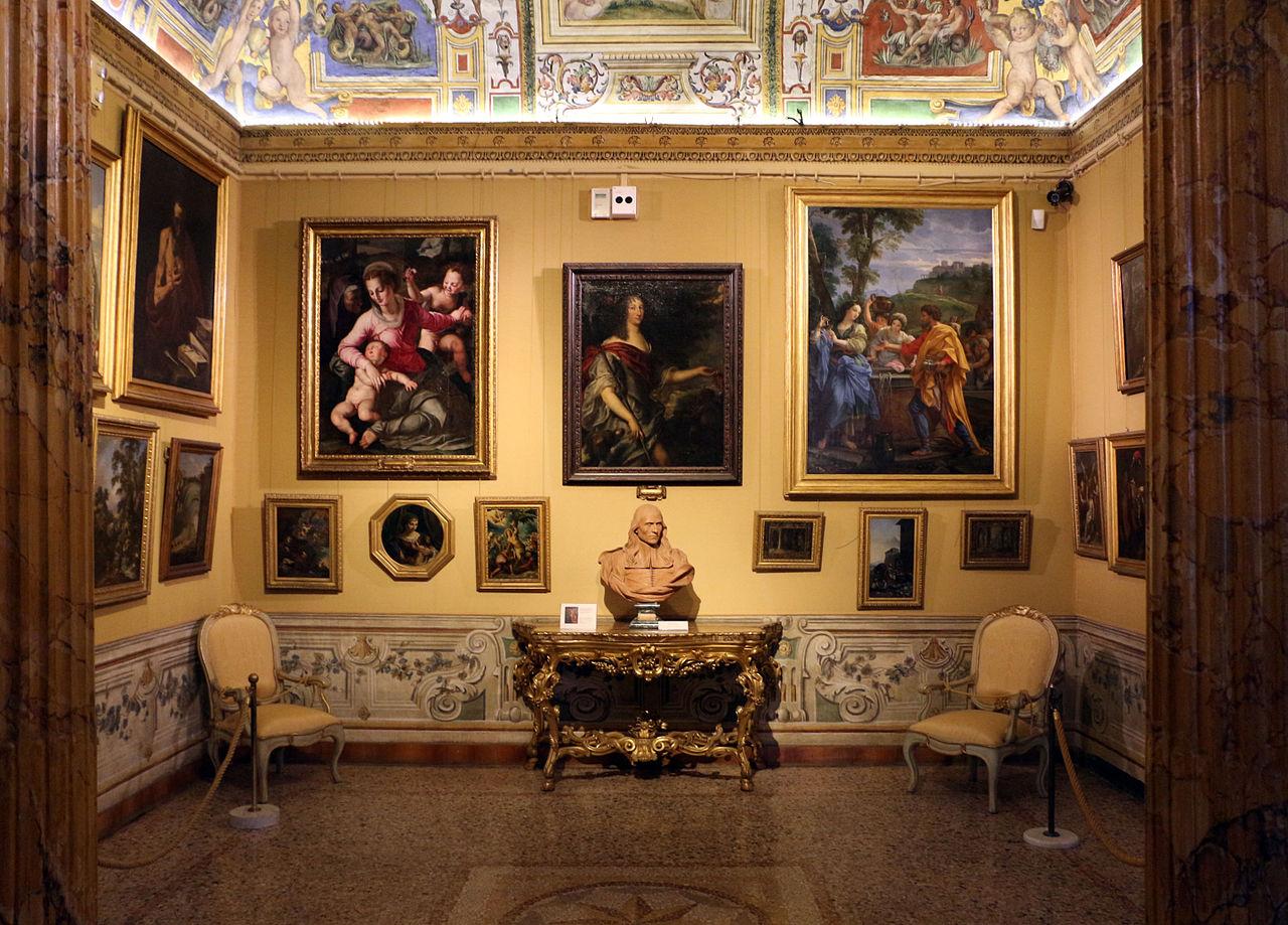 Museer, inte bara Vatikanens palazzo corsini rom