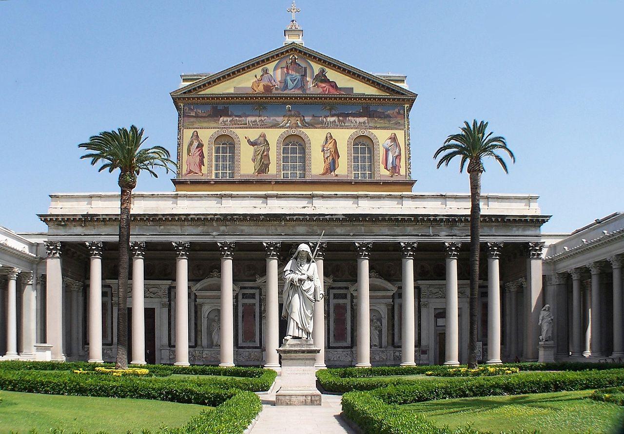 Mer av den eviga staden rom san paolo