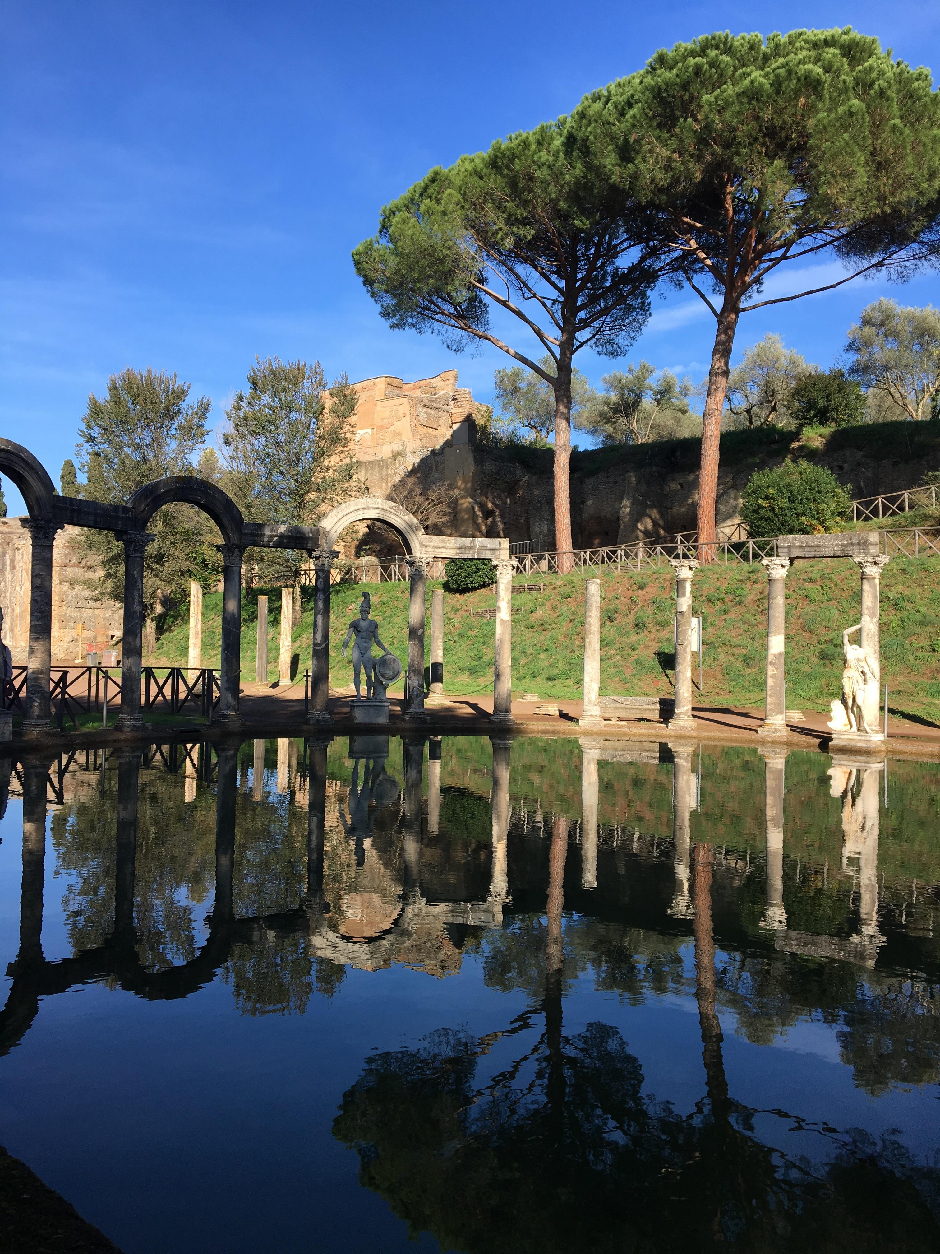 Ut på landet villa adriana rom